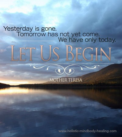 natural relief for anxiety, yesterday is gone quote