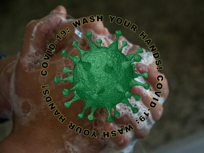 covid, wash your hands