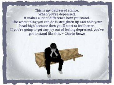 depressed by charlie brown