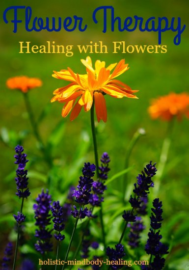 healing with flowers