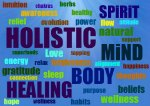 definition of holistic healing