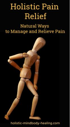 natural ways to manage and relieve pain