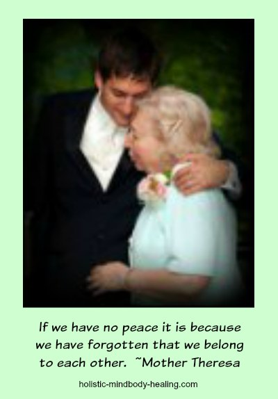 love hormone oxytocin, if we have no peace quote Mother Theresa