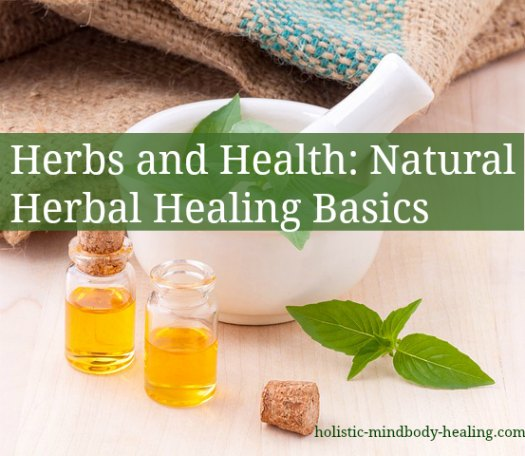 Herbs And Health Natural Herbal Healing Basics