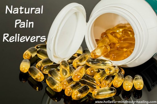 natural pain relievers, supplements for inflammation and pain