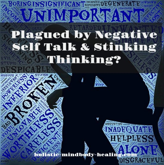stinking thinking and negative self talk