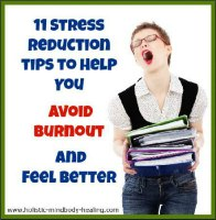 avoid burnout stress