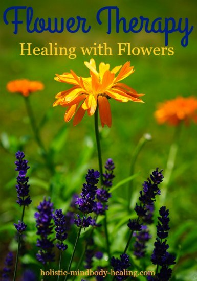 healing with flowers, flower therapy