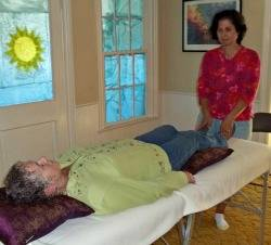 learn energy healing, grounding the feet