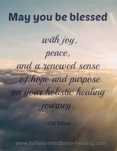 holistic healing prayer and blessing