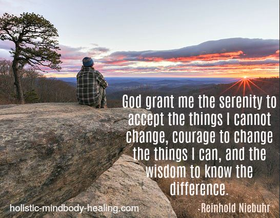 God grant me the serenity prayer Reinhold Niebuhr quote