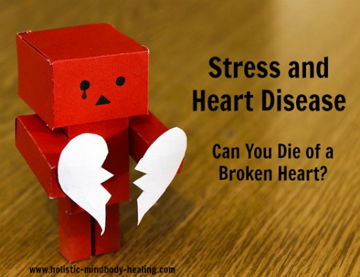 broken heart syndrome, stress and heart disease